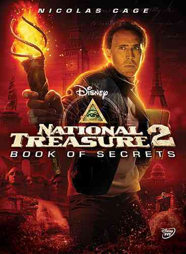NATIONAL TREASURE 2:BOOK OF SECRETS BY CAGE,NICOLAS (DVD)