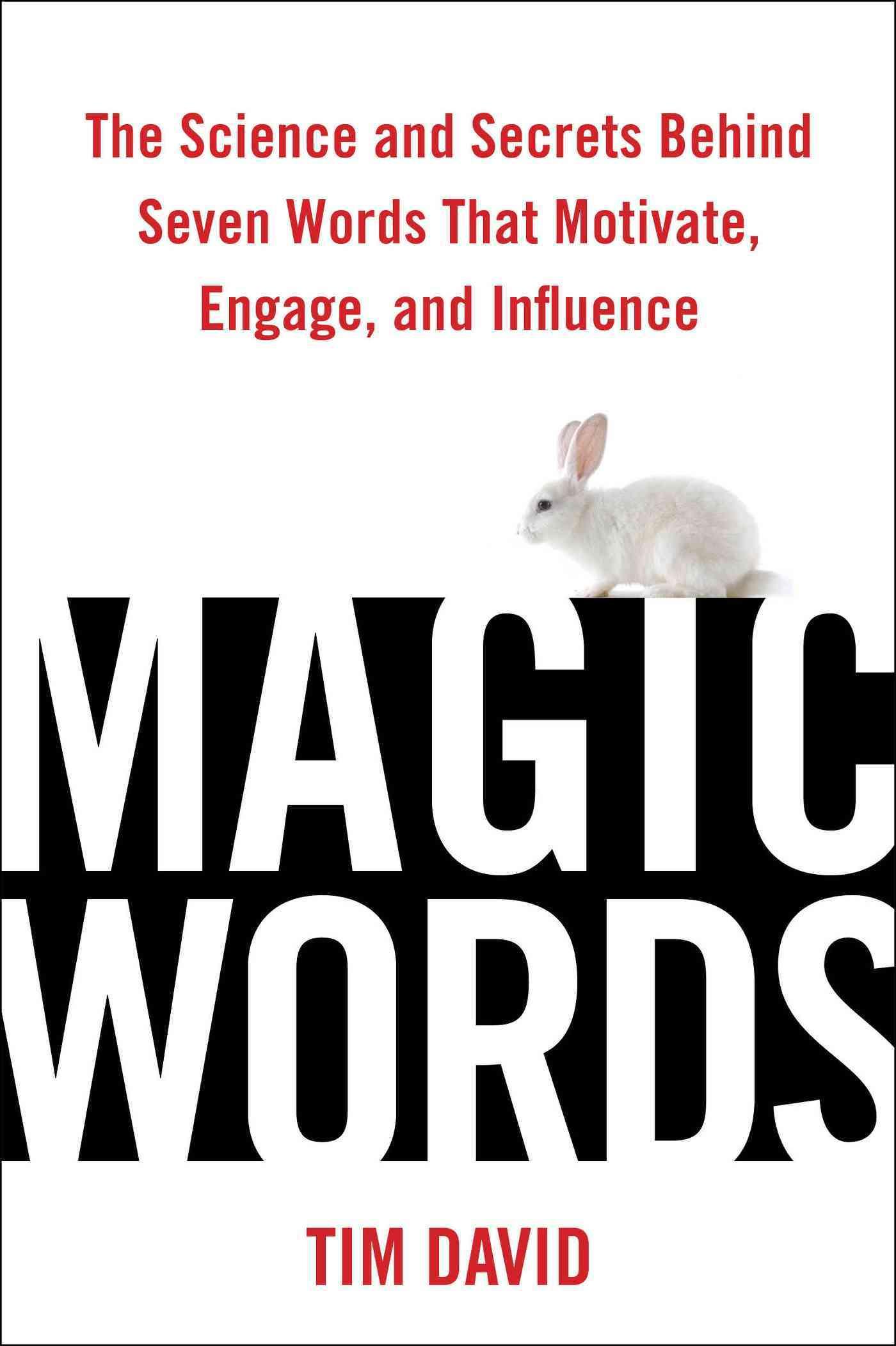 Magic Words By David, Tim